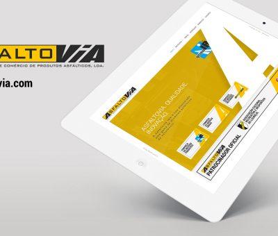 Novo Website Asfaltovia