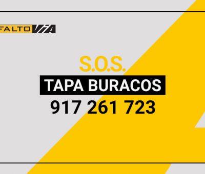 Serviço SOS Tapa Buracos